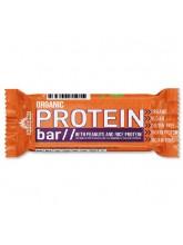 Органски протеински бар со кикирики и оризов протеин (50гр.)