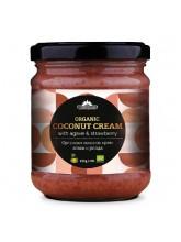 Органски кокосов крем со агаве и јагода (220гр.)