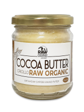 Органски сиров какао путер (160гр.)