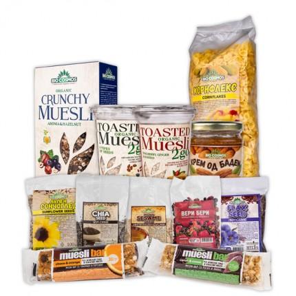 Сет производи за здрав и вкусен појадок