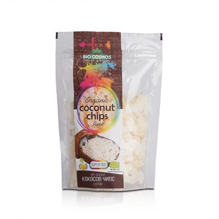 Органски сиров кокосов чипс (70гр.)