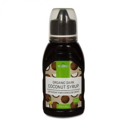 Органски темен кокосов сируп (250гр.)