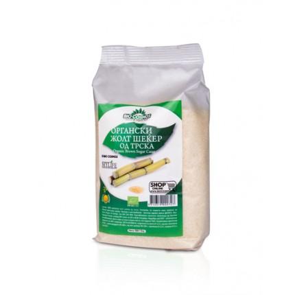 Органски нерафиниран жолт шеќер 500 г