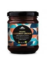 Органски кокосов крем со агаве и какао (220гр.)