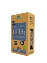 Органски безглутенски крекери со лен и бадем (100гр.)