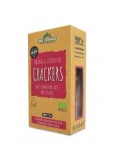 Безглутенски крекери со сусам и хималајска сол органски 100 гр