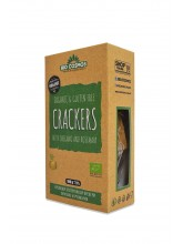 Безглутенски крекери со оригано и рузмарин органски 100 гр