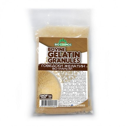 Говедски желатин во гранули 100 гр.