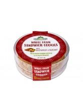 Интегрални сендвич колачи со хељда и лешник