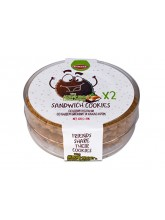 Интегрални сендвич колачи со бадем и какао крем 120гр