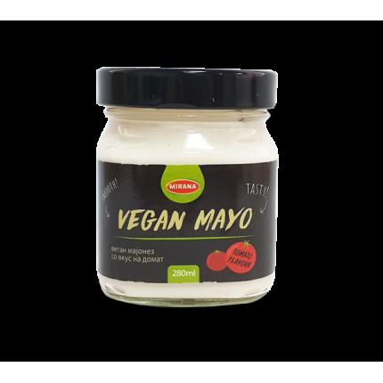 Веган мајонез со вкус на домат 280 мл