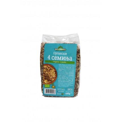 Органски 4 семиња (400гр.)