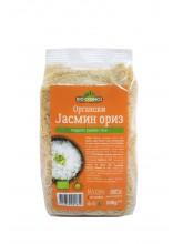Oргански интегрален ориз од јасмин (500гр.)