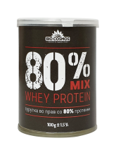 Сурутка во прав 80% протеини 100 г