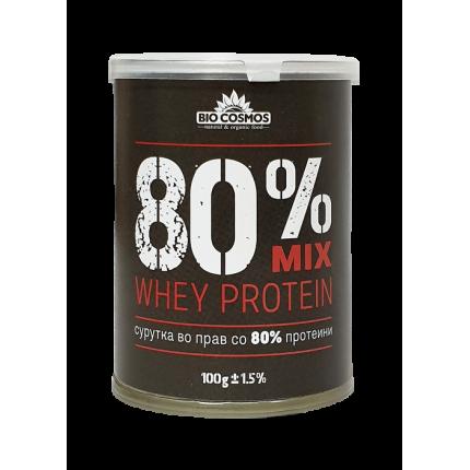 Сурутка во прав со 80% протеин (100гр.)