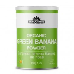 Органска зелена банана во прав (150гр.)