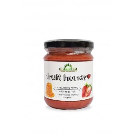 Ливадски мед со јагода (220гр.)