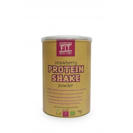 Протеински шејк во прав со jагода (500гр.)